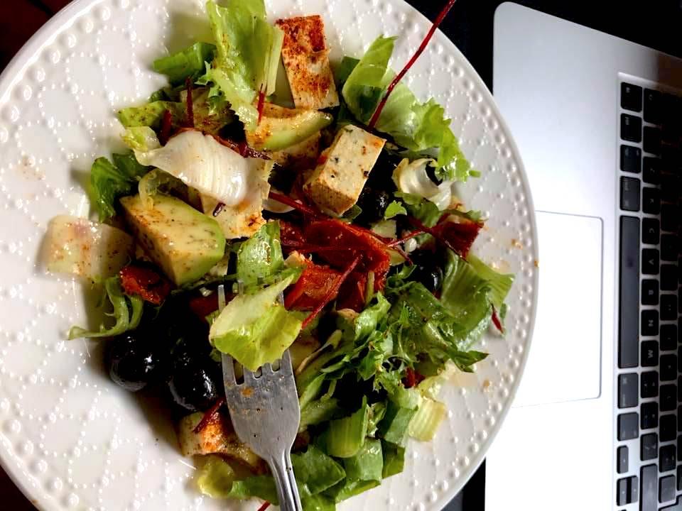salatka z tofu