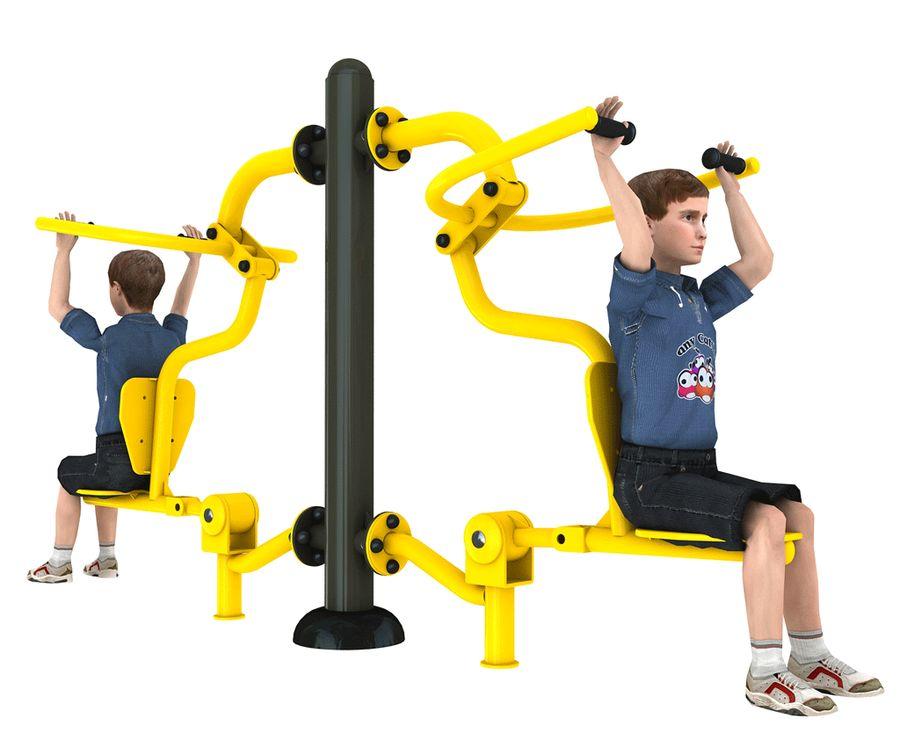 Urządzenie siłowni zewnętrznych dla dzieci